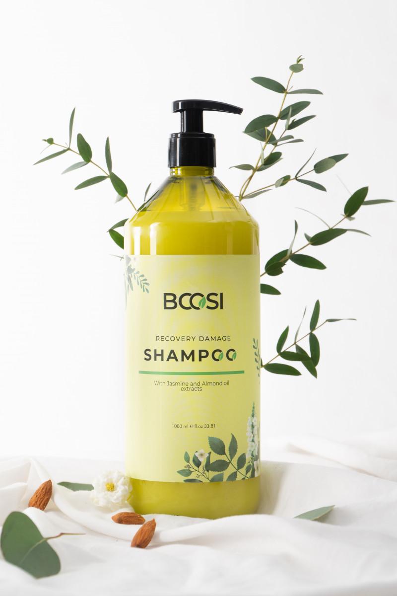 Dầu gội phục hồi hư tổn tóc và bảo vệ da đầu Bcosi Recovery Damage Shampoo (1000ml)