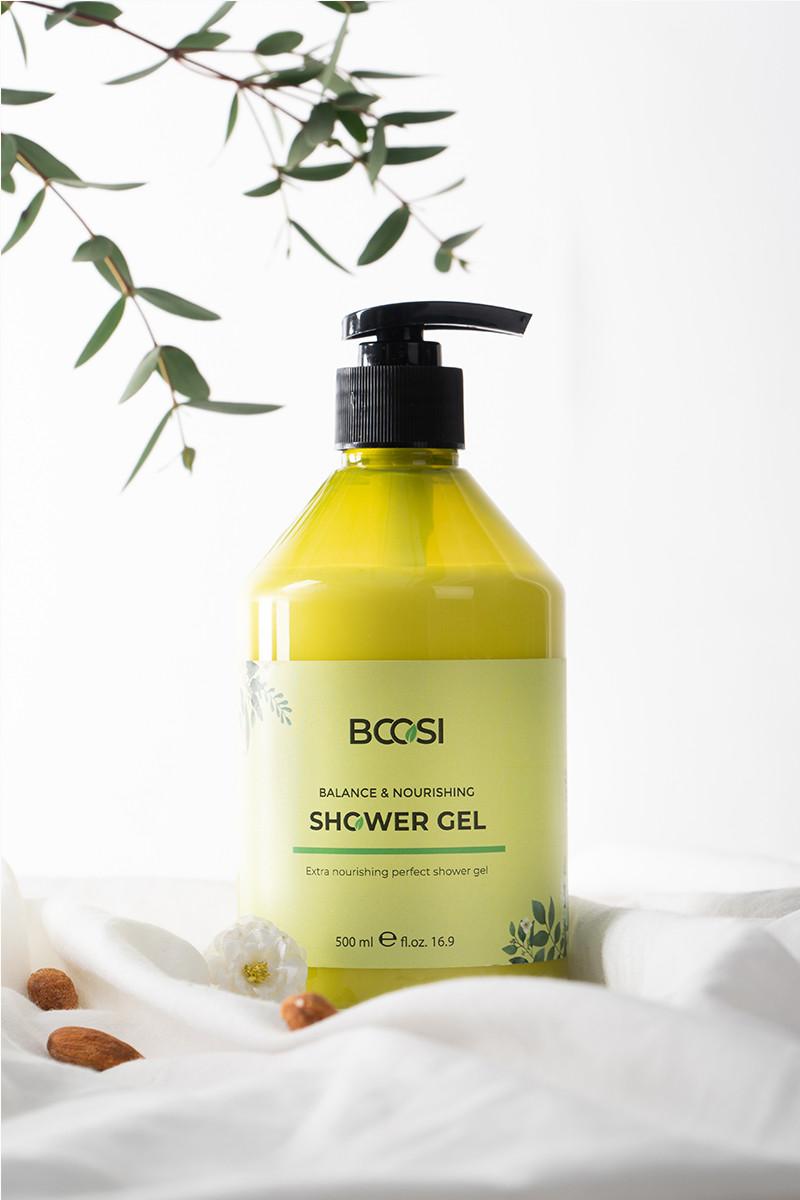 Gel tắm cân bằng và dưỡng ẩm chiết xuất rong biển Bcosi Balance& Nourshing Shower Gel (500 ml)