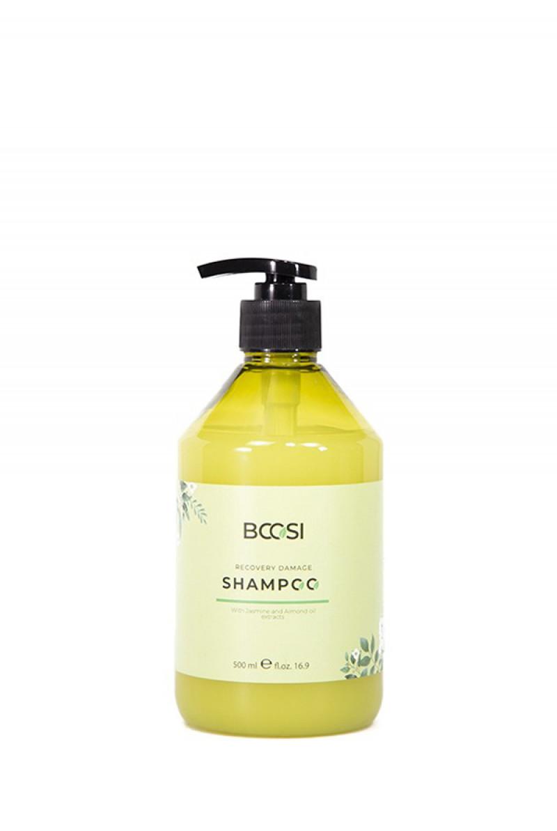 Dầu gội phục hồi hư tổn tóc và bảo vệ da đầu Bcosi Recovery Damage Shampoo (500ml)