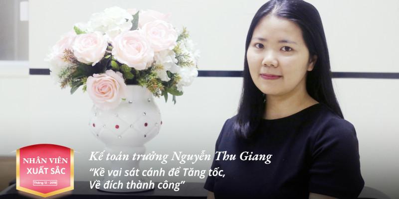 """Kế toán trưởng Nguyễn Thị Thu Giang:  """"Kề vai sát cánh để Tăng tốc, Về đích Thành công"""""""