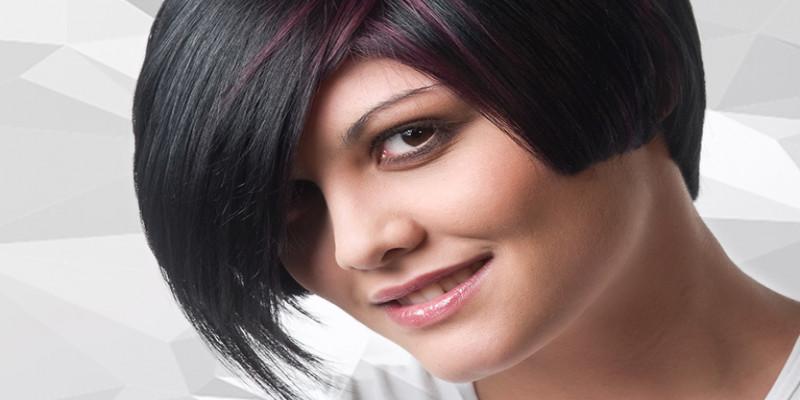 Kỹ thuật nhuộm màu cơ bản | Hiệu ứng chuyển màu trên nền tóc tối : Mix Tím Đỏ