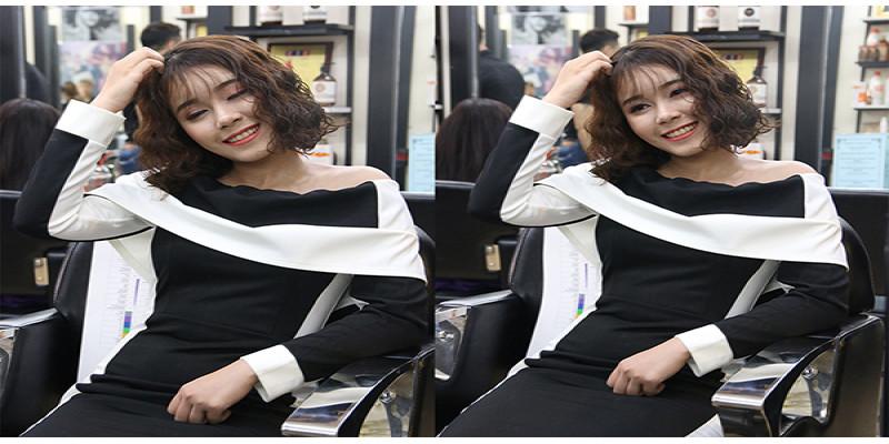 Xinh như nàng công chúa với sóng tóc mây hot trend 2018