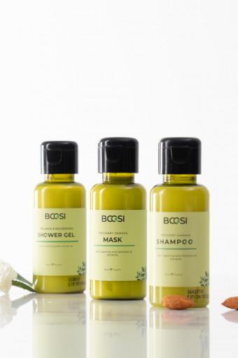 BCOSI Travel Kit - Bộ sản phẩm dầu gội - mặt nạ - gel tắm Bcosi 70ml