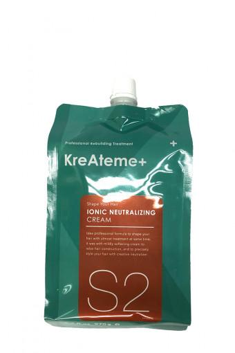KreAteme+ Ionic neutralizing cream (S2) -  Kem định hình duỗi/ép KreAteme+ S2