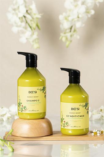 Bộ dầu gội - dầu xả chăm sóc da đầu và ngăn ngừa rụng tóc BCOSI Energy Boost (500ml)