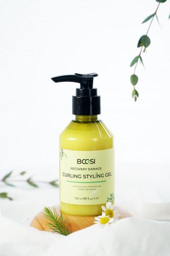 Gel dưỡng tạo kiểu định hình tóc xoăn Bcosi Recovery Damame Curling Styling Gel (150ml)